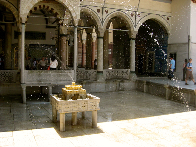 Turkish bath place