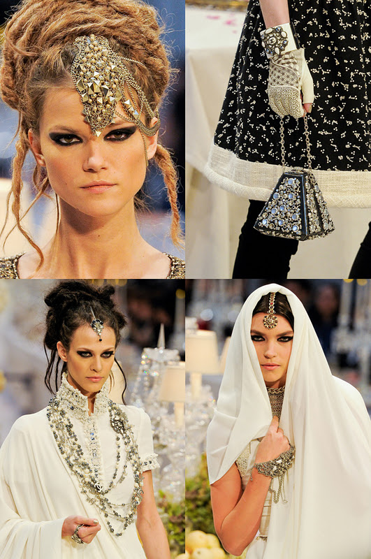 chanel indian elements