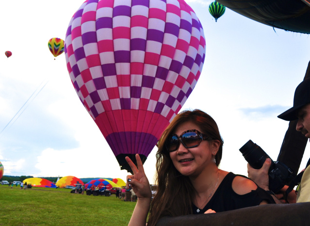 Edgymix at 2012 NJ hot air balloon festival