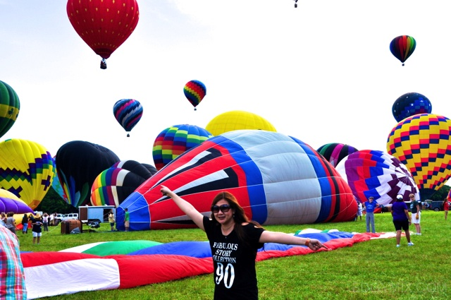 Edgymix at the 2012 NJ balloon festival
