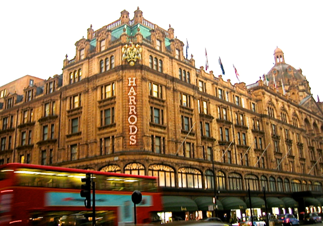 Harrods at London