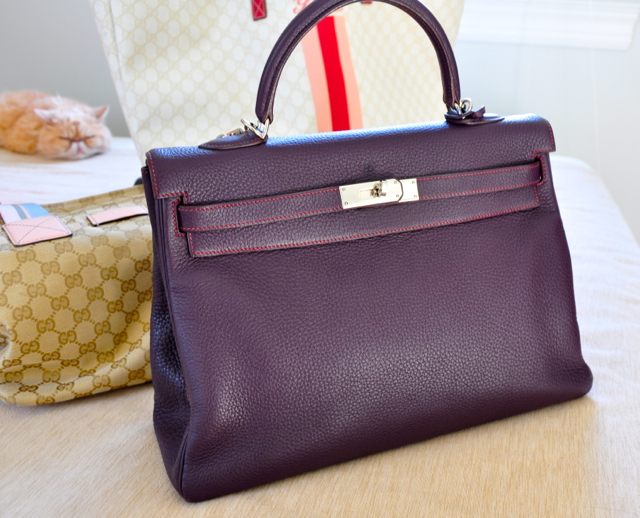 My favourite bag-Hermes Kelly 35cm
