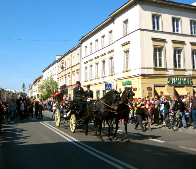 Parade At Warsaw Poland
