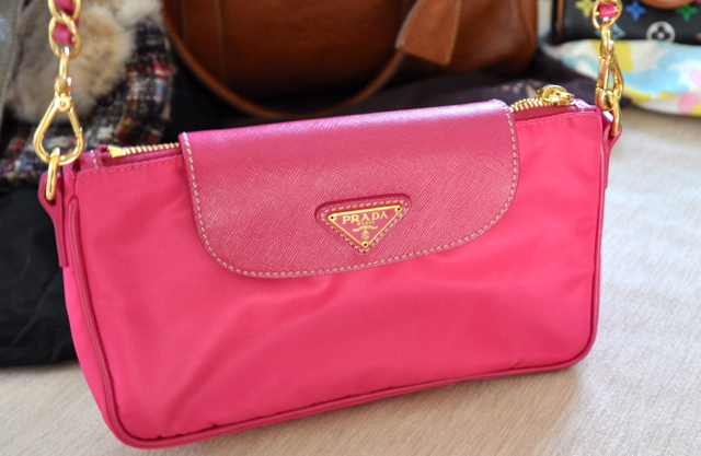 Prada party purse