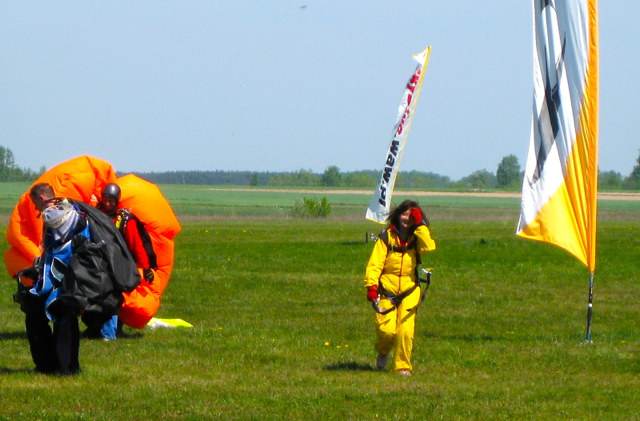 Skydiving in Poland