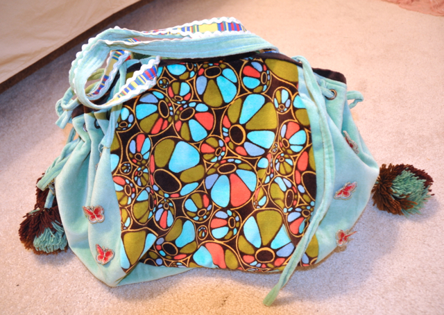 The otherside of the reversible bag