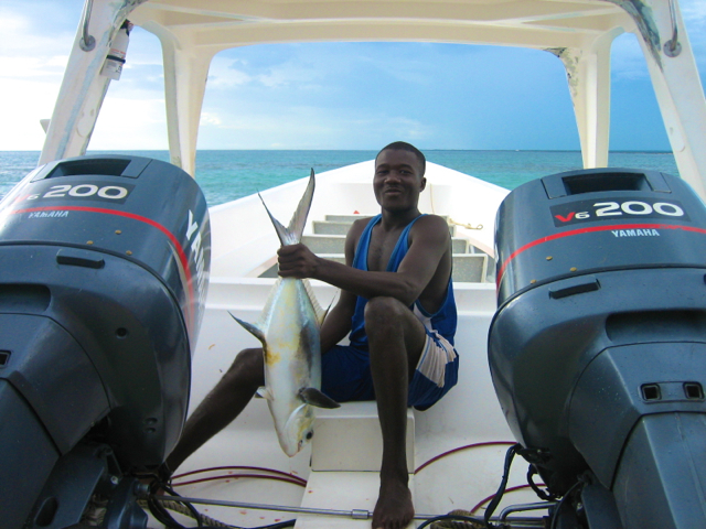 fishing at Dominican republic