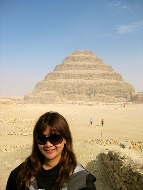 pyramid at egypt