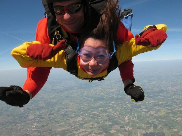 skydive in Poland