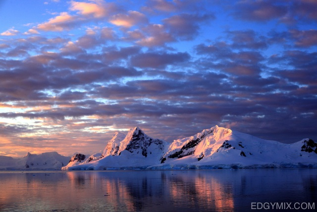 Amazing lanscape in Antarctica