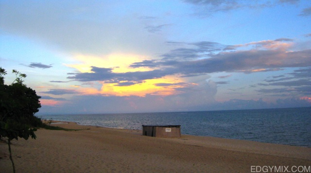 Dawn at Lake Malawi