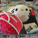 Chanel Bag x Hello Kitty Fondant Cake