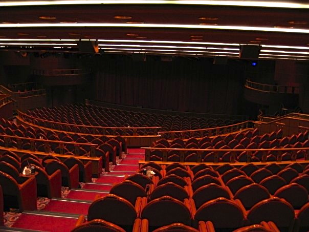 Entertainment theater in Princess Cruise