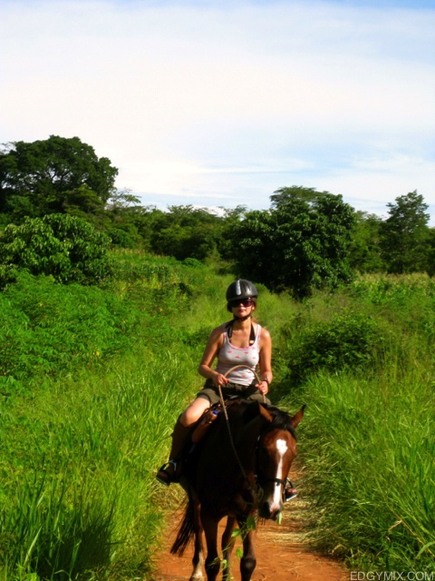 Horsback riding in Malawi