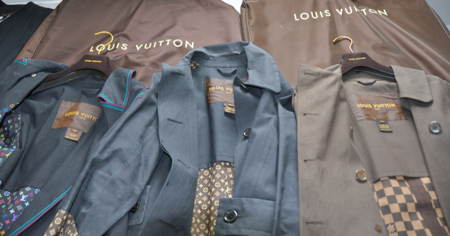 Louis Vuitton Trench Coats