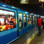 Subway at Santiago Chile