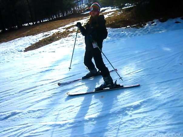 skiing at lake placid