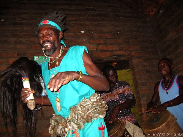 witch Doctor at Lake Malawi