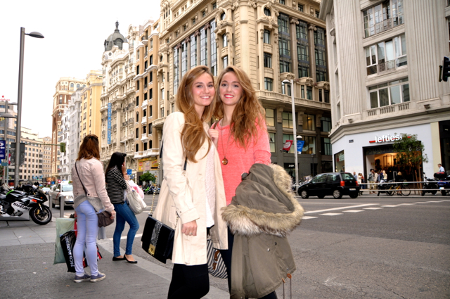 Fashion photo from Madrid