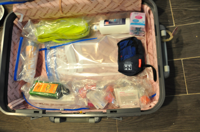 Long term travel packing list