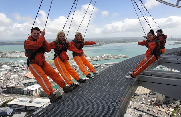Skywalk IN Auckland(clips)