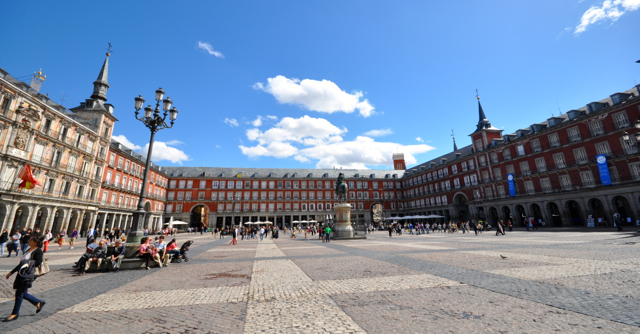 Mayor Square in Madrid