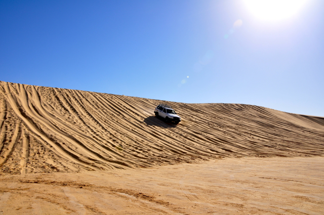 4x4 ride at the sand dune to Star war site-Tunisia