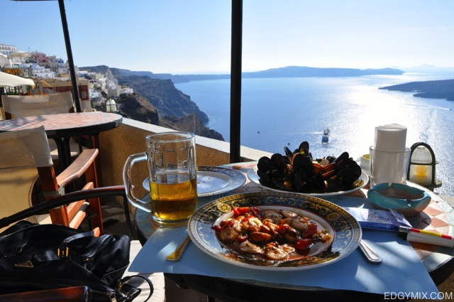 Best brunch in Santorini