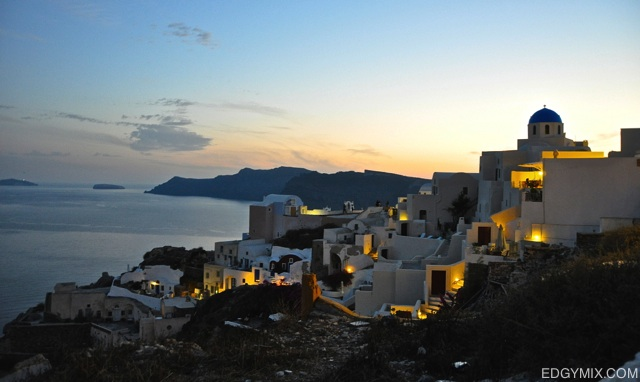 Dawn-Santorini Greece