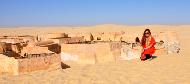 Edgymix at Star war Site-Tunisia
