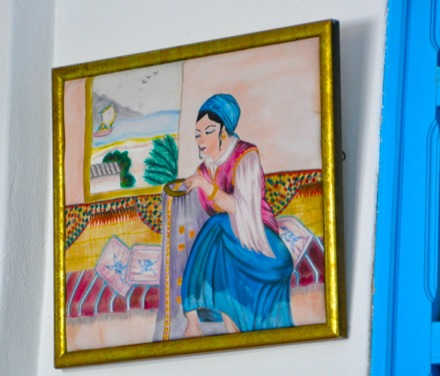 Painting from Tunisia