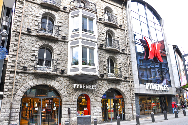 Shopping mall in Andorra
