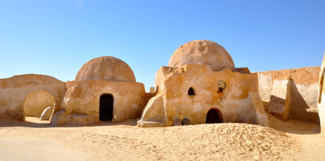 Star war Site at southern Tunisia