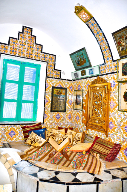 Tradtional house in Tunisia