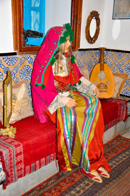 Traditional Wedding dress in Tunisia