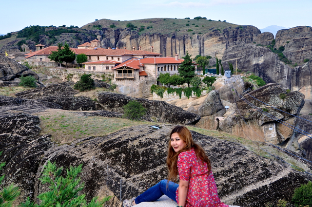 at Meteora, Greece