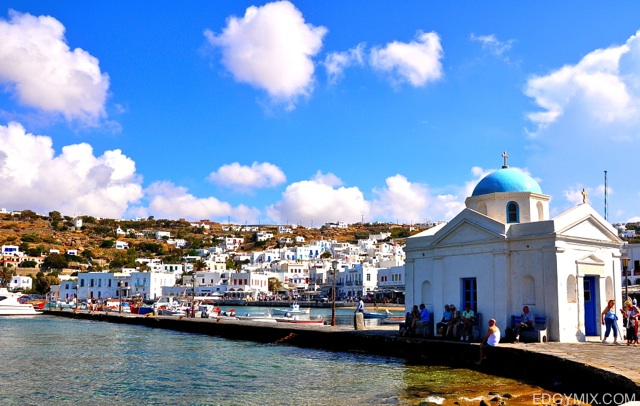 at mykonos Island, Greece