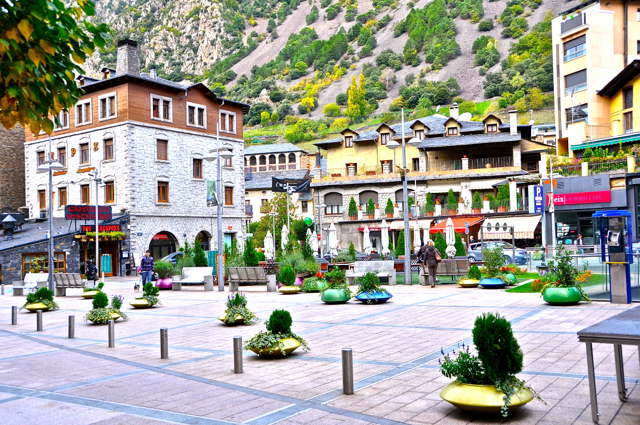 beautiful city of Andorra