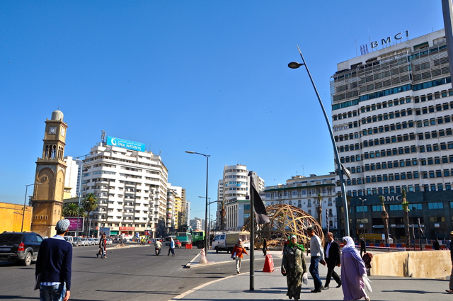 casablanca city center