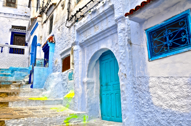 edgymix at chefchaouen morocco