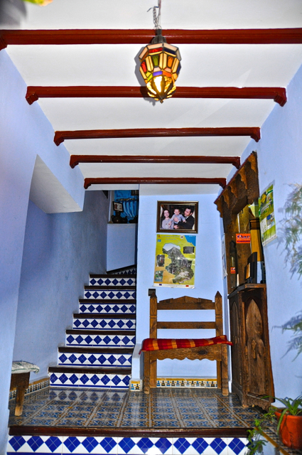 hotel at chefchaouen morocco