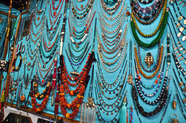 jewelries at chefchaouen morocco