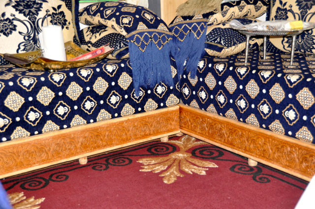moroccan family's furniture