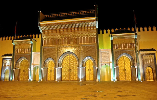 palace in Fes, Morocco