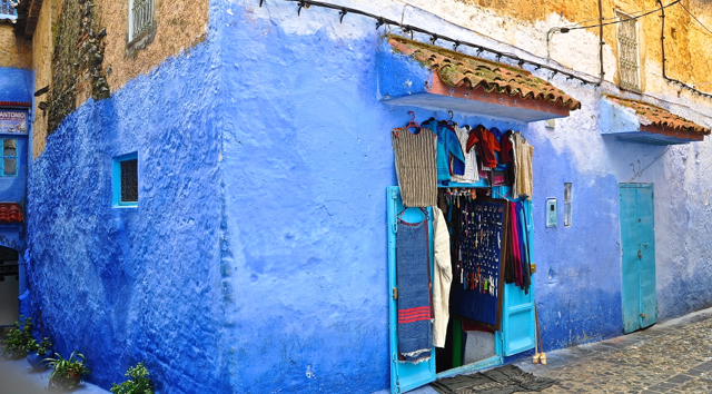 shop at chefchaouen morocco
