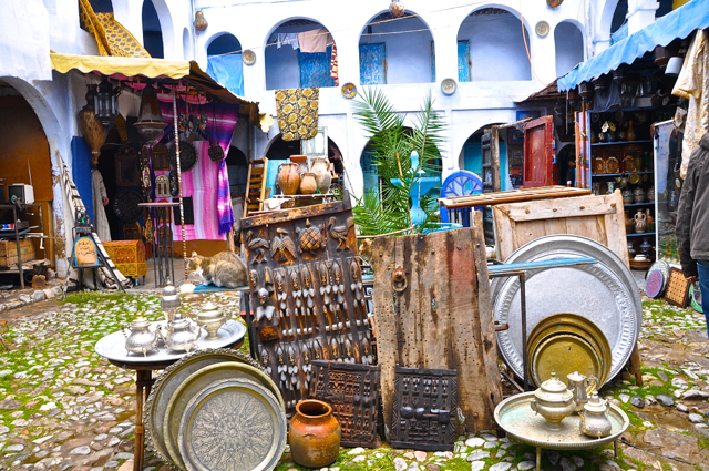 store, chefchaouen morocco