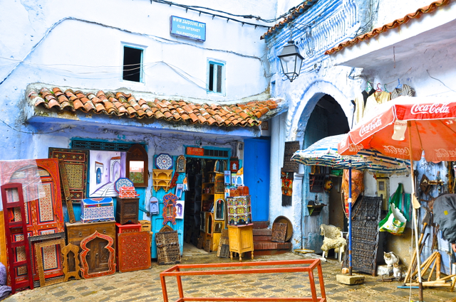 stores-chefchaouen morocco