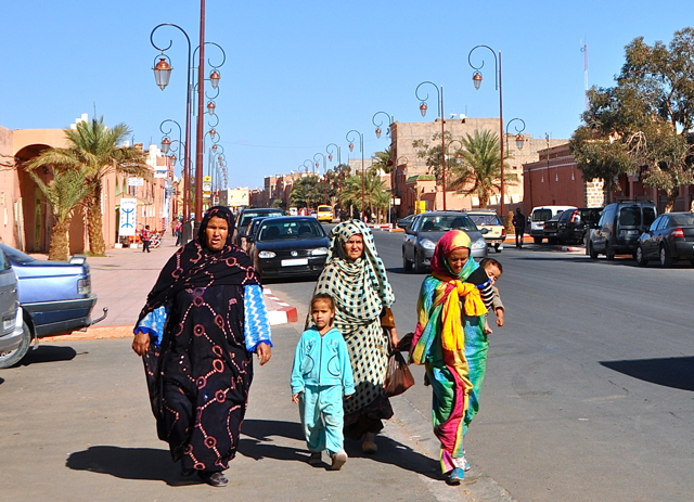women's wear in Zargora, morocco
