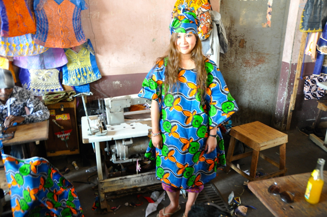 African clothings from Gambia