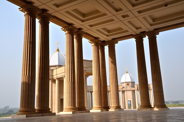 The Basilica of Our Lady of Peace of Yamoussoukro